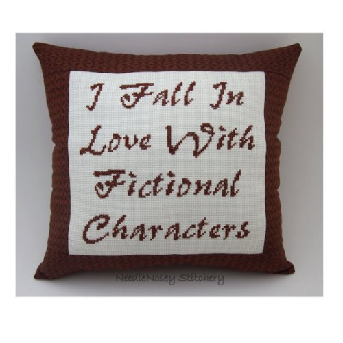 fall in love with fictional characters
