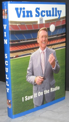 vin scully saw it on the radio