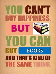 cant buy happiness can buy books
