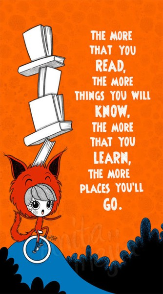 Dr-Seuss-picture-quote-on-reading-and-knowledge-inspirational-kids-book-illustration-art