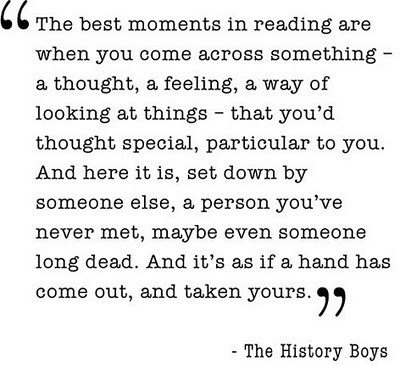 history boys quote