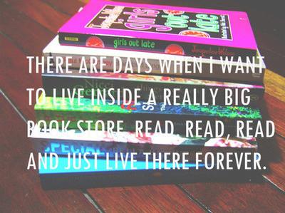 live in a bookstore