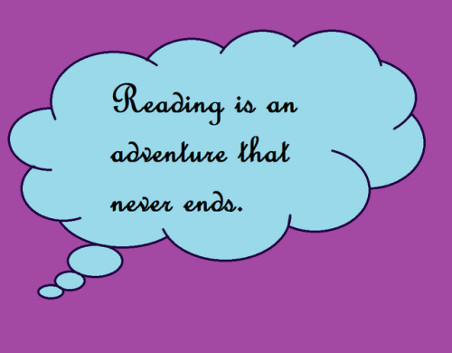 reading an adventure that never ends