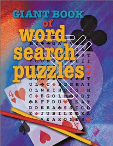 giant book of word search puzzles