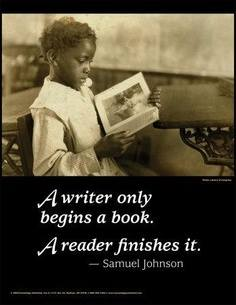a writer only begind a book