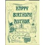happy birthday author