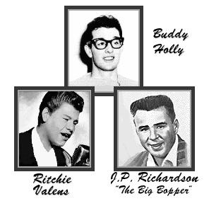 The Day the Music Died: Buddy Holly, Richie Valens and J.P. Richardsons